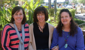 Jennifer Trednick, Debbie Richardson, Kathi Rose